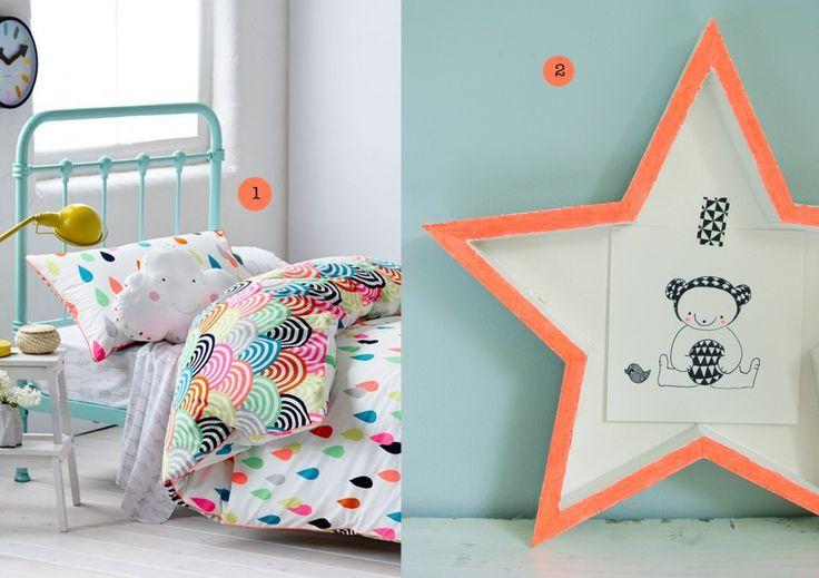 nr. 1: gevonden op adairs.com.au: confetti quilt | nr. 2: illustratie met lijstje te koop: 22 euro