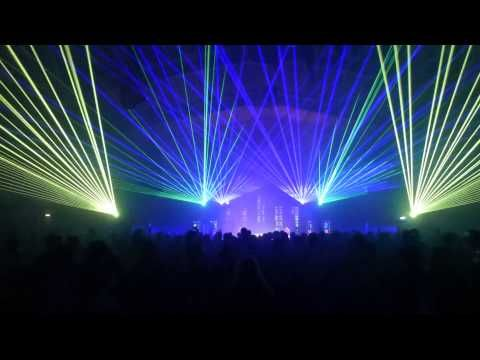 stunning laser show at Together Festival, staging for event supplied by www.24carrotevents.co.uk