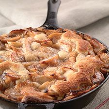Apple Skillet Cake....... if you don't own any cast iron skillets... believe me, they are a worth wild investment!!