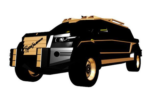 Prvy: A hulking armored SUV that can even stop machine gun fire! | DamnGeeky