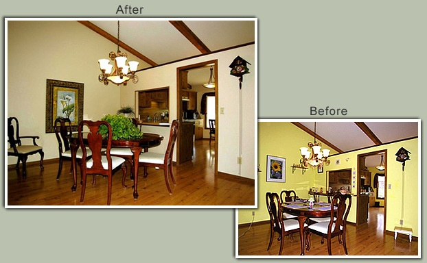 1000 Images About Home Staging Before After On