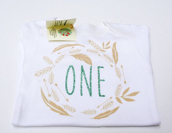 First Birthday One Glitter First Birthday First by LovBugBoutique