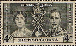 British Guiana 1937 King George VI Coronation SG 306 Fine Used Other West Indies and British Commonwealth Stamps HERE!