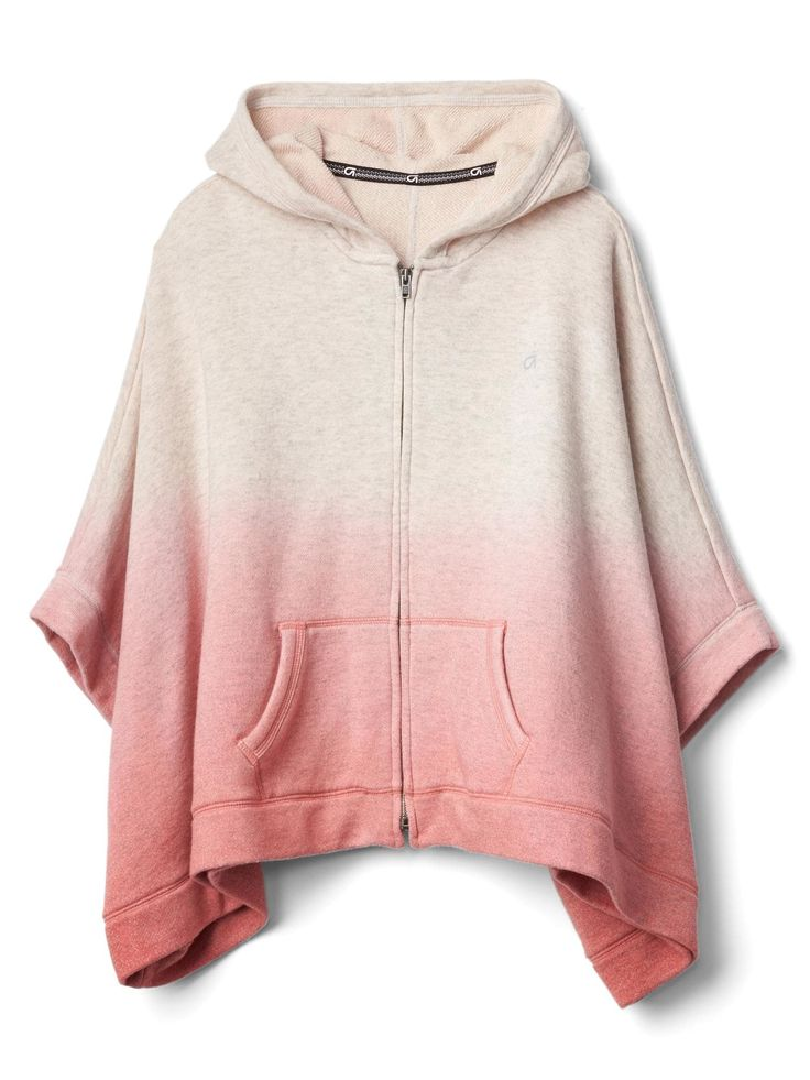 GAP | Ombre Hoodie Poncho