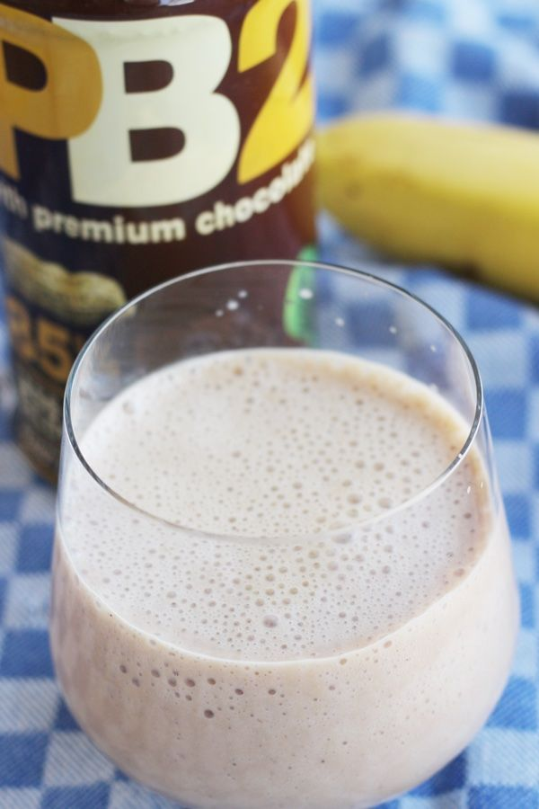 Use Chocolate PB2 to make a lower calorie (but very delicious) smoothie. Tastes like peanut butter and chocolate!