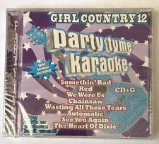 Party Tyme Karaoke: Girl Country, Vol. 12  [NEW CD] Taylor Swift Red, Chainsaw..