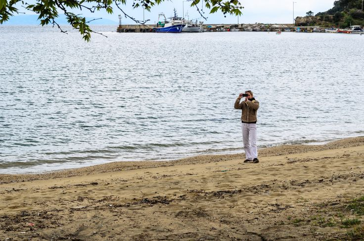 Documenting one of our trips in Olympiada, Chalkidiki, Greece