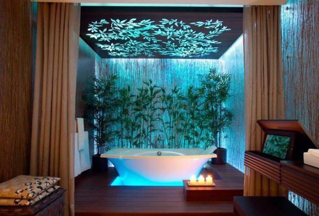 Hemmelighet til skjønnhet og velvære på høyt nivå gjennom kinesisk stil. #China #Bathroom