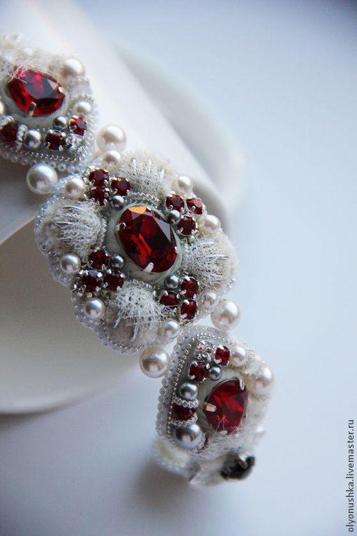 """Купить Браслет """"Trento.Luxury Italia."""" - браслет, винтажные украшения, винтажный браслет"""