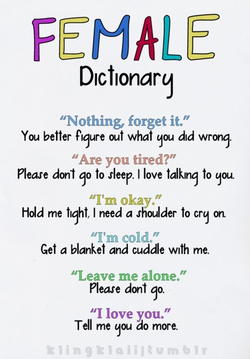 female dictionary.: Life, Quotes, Sotrue, Truths, Funny Stuff, So True, Things, True Stories, Female Dictionary