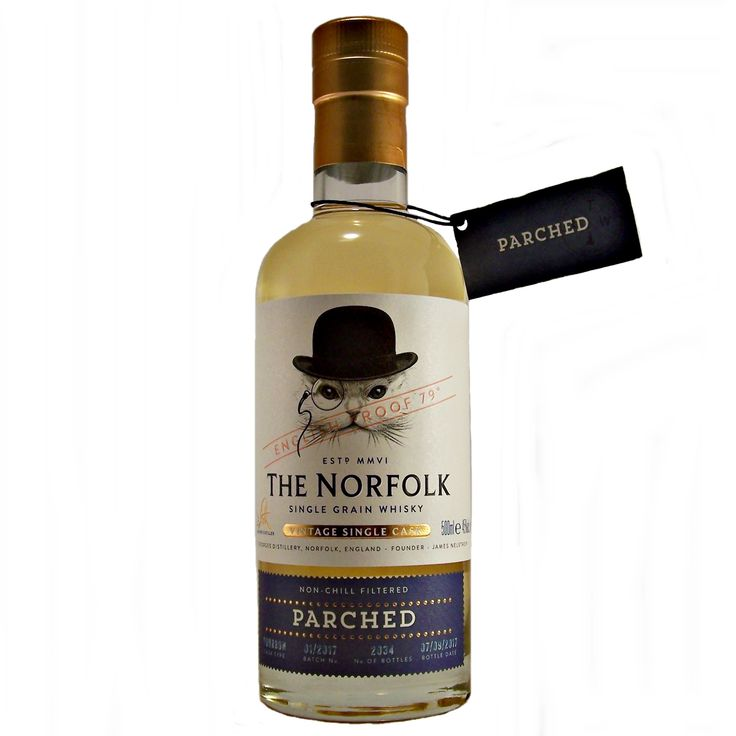 The Norfolk Parched Vintage Single Grain Whisky English available to buy online at specialist whisky shop whiskys.co.uk Stamford Bridge York