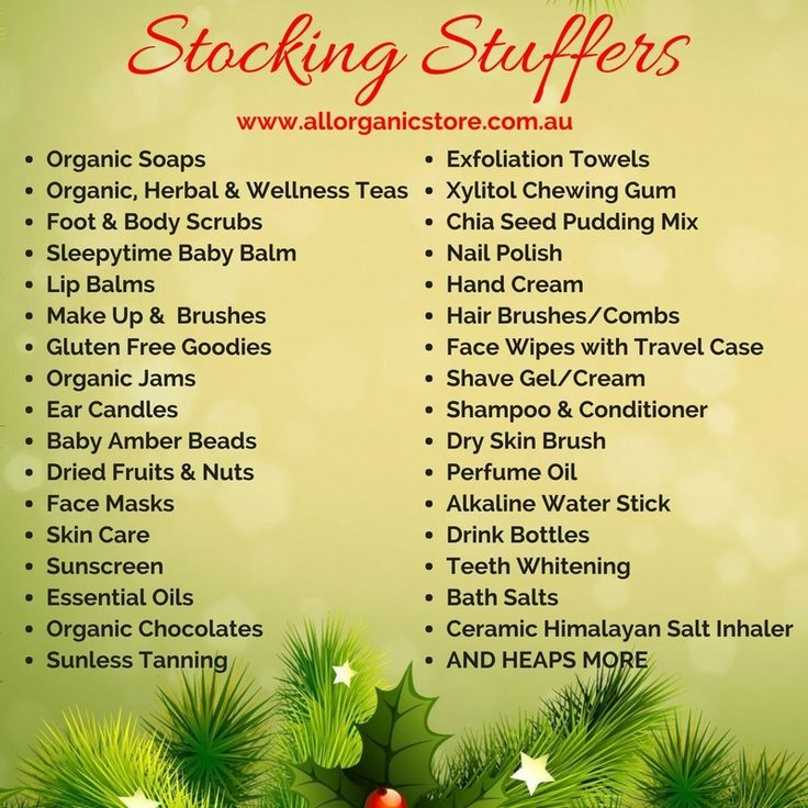 Are you stumped for Christmas Stocking Stuffers? We have a stack of great items for you ❤️