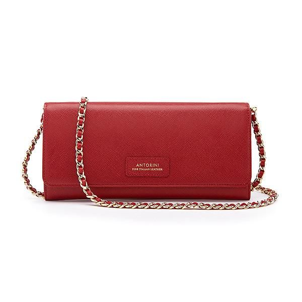 Luxurious Concetta Wallet in Red