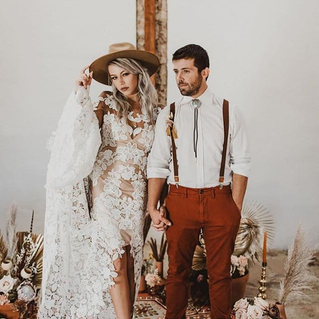 Bride Style Doesn T Come More Rock N Roll Than Snakeskin Boots