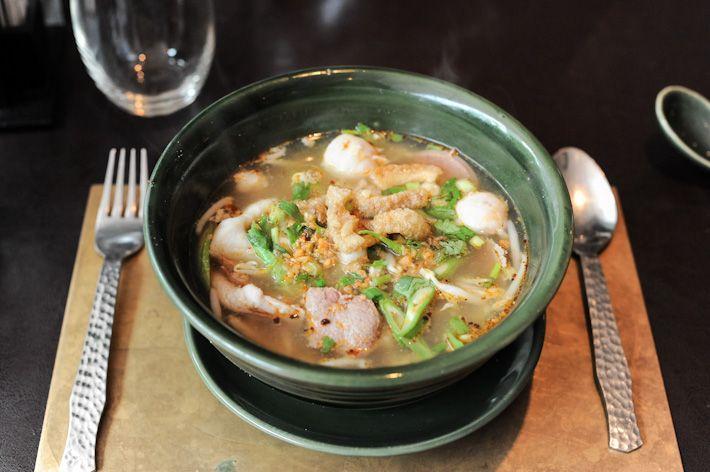 Nara Thai Cuisine. Kuay tiew rua