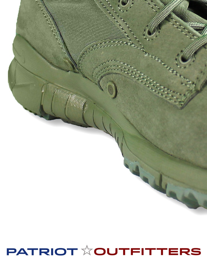 The two spots above the midsole are ventilation holes which make the Nike  sage green boots