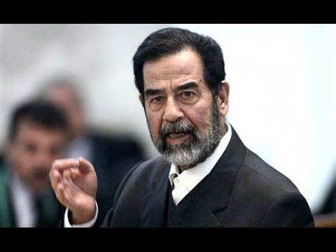 Leadership. Saddam Hussein, one of the best arab leaders who gave free education and health insurance to his people and provided a safe environment to live in.