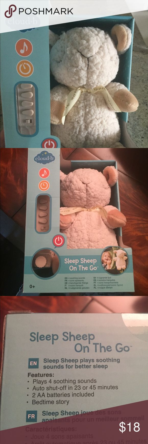 Cloud b sleep sheep on the go New in box cloud b sleep sheep on the go.  Portable sleep machine/white noise for kids. Other