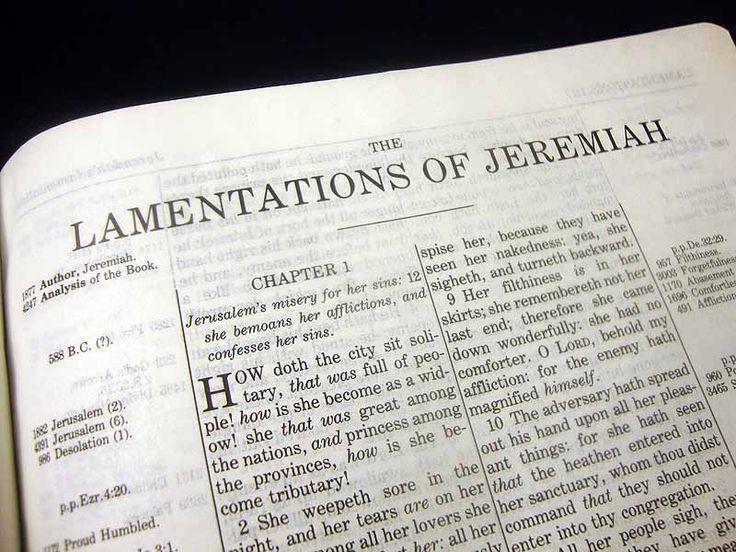Read Scripture: Old Testament