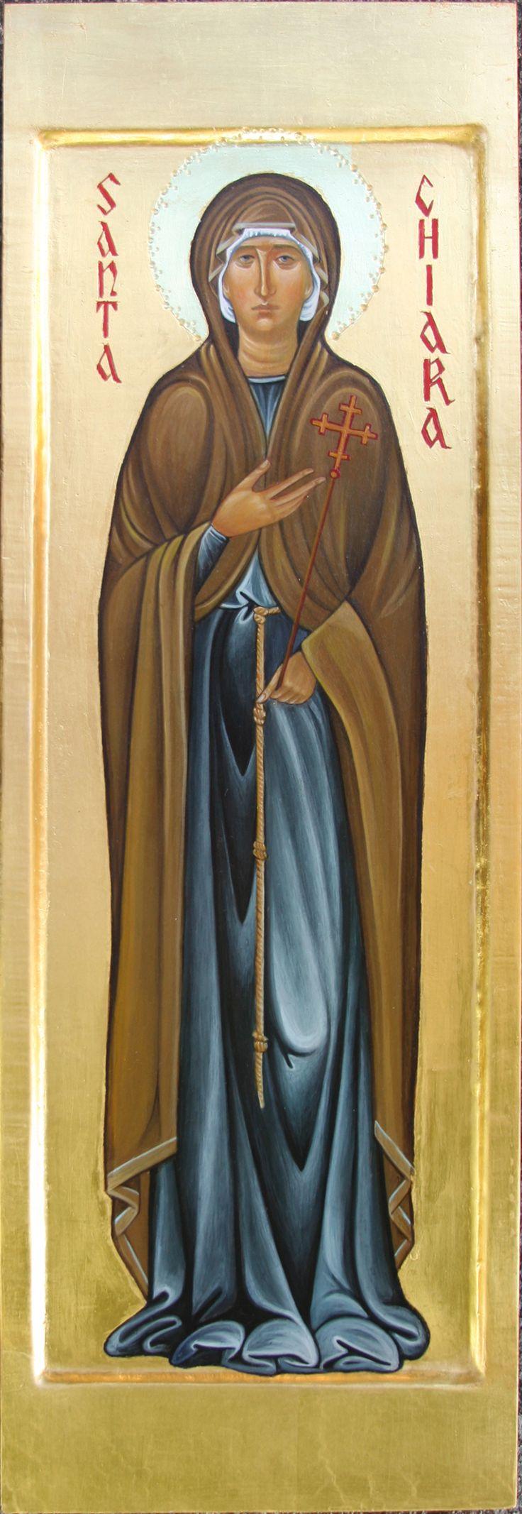 Santa Chiara d'Assisi per mano di Maria Marciandi (Italy)