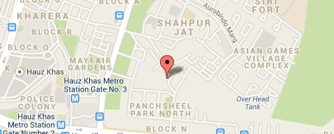 Map of the business location #PavitraJyotish