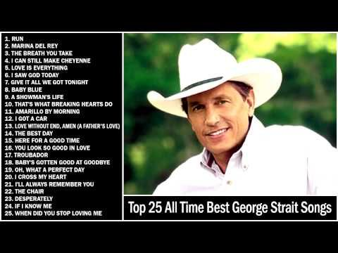 YouTube>>>George sings Strait from his heart. He's experienced the same tradegy as a boy when his mom walked out of his dad's life, stealing the only girl sister in the family, and leaving all the men in her marraiged life, to defend for themselves. Boise favorite country boy, along with Kenny Chesney & Jana Kramer