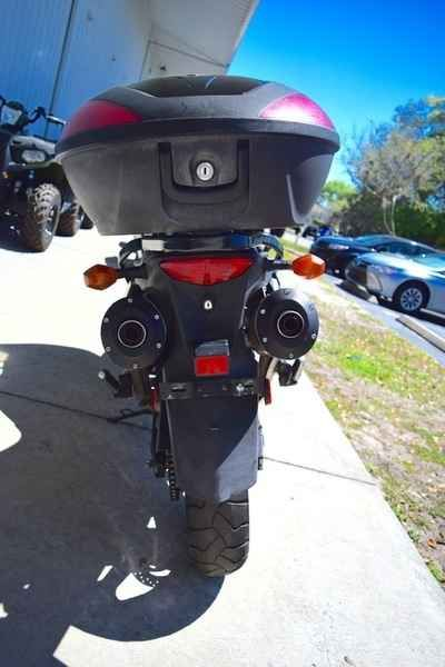 Used 2005 Suzuki V-Strom 1000 Motorcycles For Sale in Florida,FL. 2005 Suzuki V-Strom 1000, The V-Strom is a bike that features storage and comfort, without financial burden. It's the perfect bike to get you around town efficiently and has the power to get out of the way when you need it too! Call us for a test ride today at 407-960-6826 Electronic fuel injection features the Suzuki Dual Throttle Valve System (SDTV) - maintains optimum air velocity in the intake tract for smooth low-to-mid…