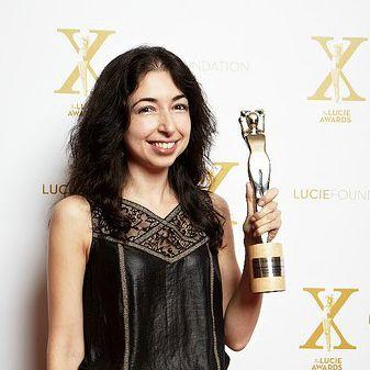 Viktoria Sorochinski fine arts photographer with Lucie Award