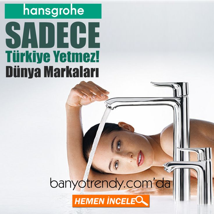 Dünya Markaları banyotrendy.com\'da ! Hansgrohe\'de banyotrendy.com\'da ...