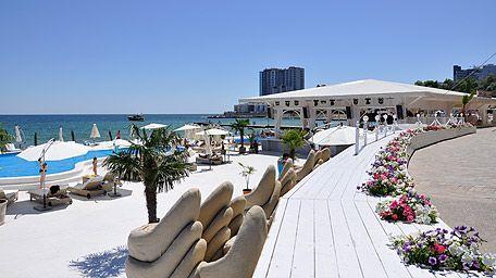 Arcadia beach Odessa Ukraine-