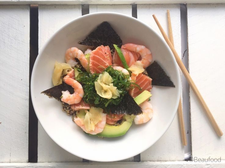 Super snelle crunchy sushi bowl - beaufood