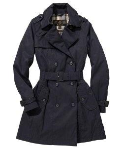 Womens Barbour Loddon Waterproof Trench Coat