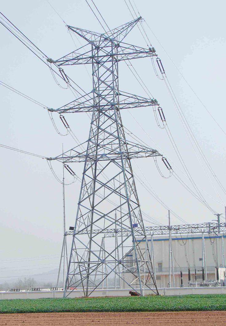 220KV power transmission tower  www.mzgjg.com