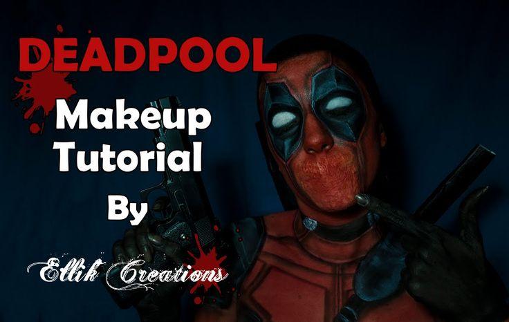 Deadpool - Makeup tutorial / Ellik Creations