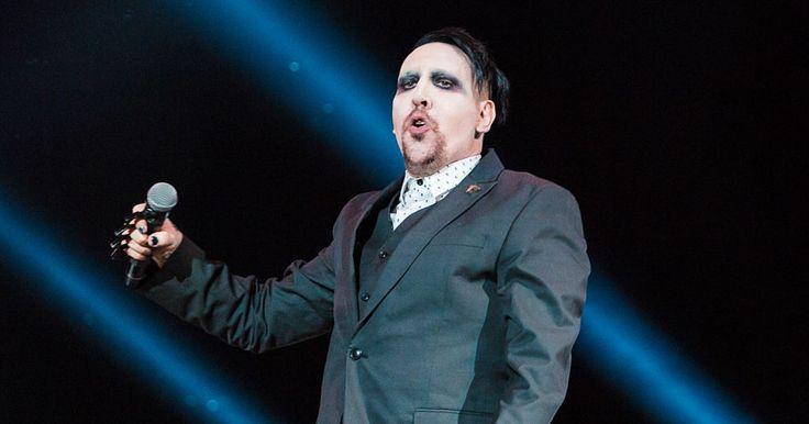 Marilyn Manson Announces Heaven Upside Down Tour #headphones #music #headphones