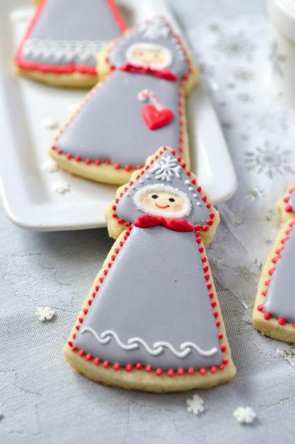 Winter Doll Cookies, inspired by a #Russian folk tale @Kirstin Nielsen Hein.com