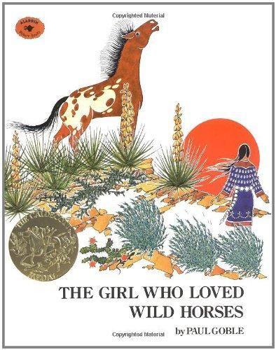 Marele premiu Caldecott din anul 1979 scrisă de Paul Goble. Cartea sune povestea unei tinere fete din America nativă ce se pierde în munți în timpul unei furtuni. Aceasta găsește o turmă de cai și se împrietenește cu ei. Cu toate că este găsită de către oamenii din sat, ea decide să rămână cu turma unde se simte cu adevărat fericită și liberă. Vârstă: 6-9 ani.