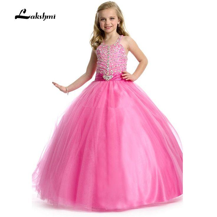 Ярко розовый пухлые платья для детейоптом-КупитьоптомЯрко розовый пухлые платья для детей изКитая наAliExpress