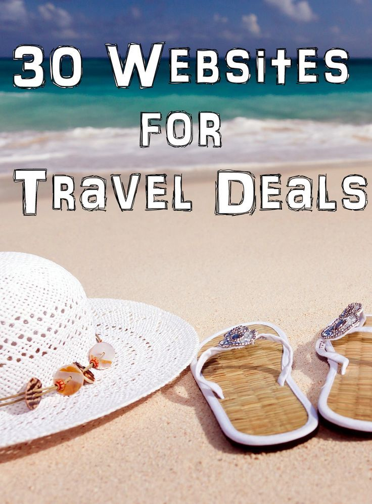 "30 Websites for Travel Deals : Budget and last minute travel deals, discounts, and tips. 75% off Cruises 50% off Vacation Packages: Enter your destination into the ""when to buy flights tool"" to see when fare's will be the lowest. Get up to 65% OFF on Las Vegas Hotels! Save up 30% on Europe Tours 30 Websites for Travel Deals : 26-Apr-2016 to 31-Jan-2019 Save up to $570 When You Book a Hotel and Flight"