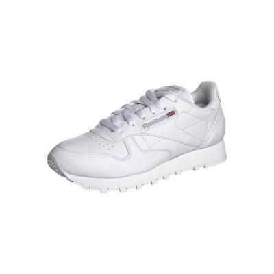 €78, Weiße Sportschuhe von Reebok Classic. Online-Shop: Zalando. Klicken Sie hier für mehr Informationen: https://lookastic.com/women/shop_items/48085/redirect
