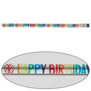 Celebrate Each Birthday With These Party-Themed Foil Wrapped Pencils