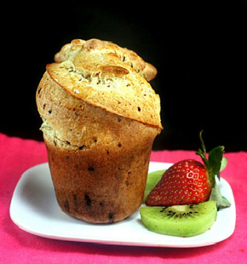 Mile High Chocolate Flecked Popovers | Breads | Pinterest