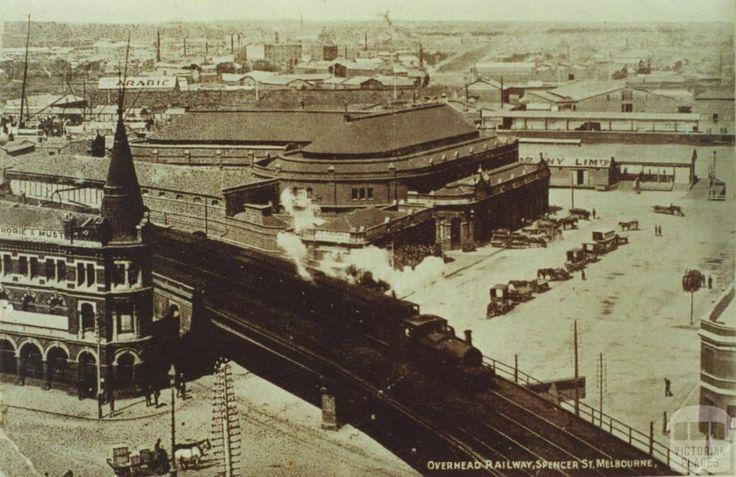 Spencer Street Railway Station, Melbourne
