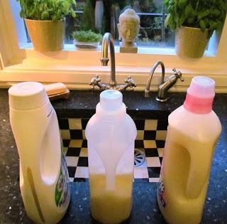 Wasmiddelperikelen en zelf wasmiddel maken! Eco tot en met!