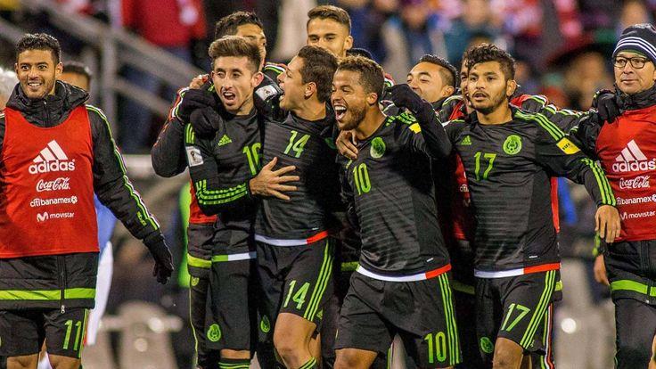 México golpea a los Estados Unidos de Trump en el campo de fútbol