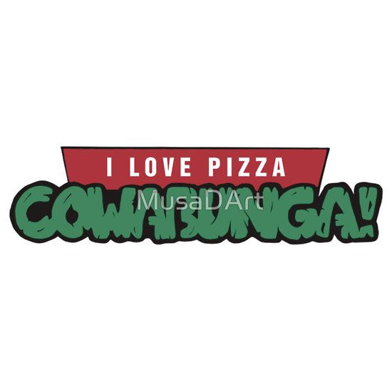 PIZZA LOVERBUNGA Available to buy on… T-Shirts, Hoodies and Stickers This Is For All You Food Lovers.