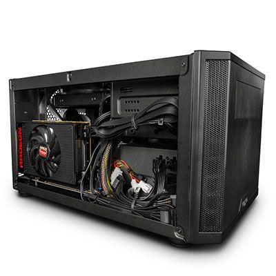 PC Gamer Nano : petit PC, grandes performances - AMD avait marqué les esprits au lancement de cette carte graphique : seulement 15cm de long et un talent proportionnellement inverse à sa taille. De fait, la Nano rivalise avec certains GPU haut de...