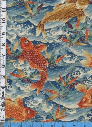 226 best koi fish in design images on pinterest koi art for Koi fish print fabric
