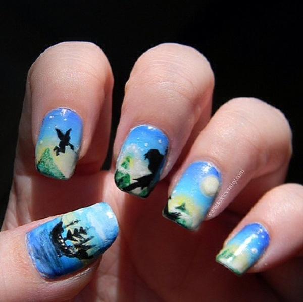 Peter Pan Nails: Peter Pan Nails!!! Need!