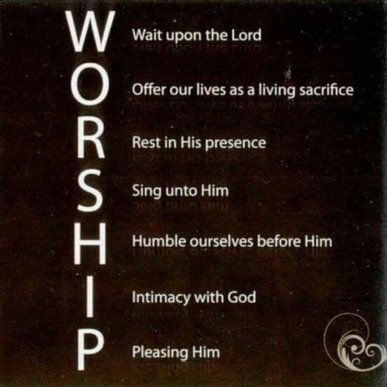 WORSHIP ACRONYM | GODLY † Acronyms | Bible, Worship ...
